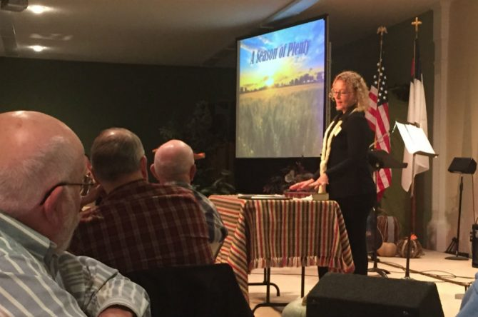 2015 PRC in Pine City - Wendy Speaking