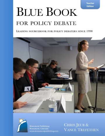 Blue Book for Policy Debate Teachers Guide