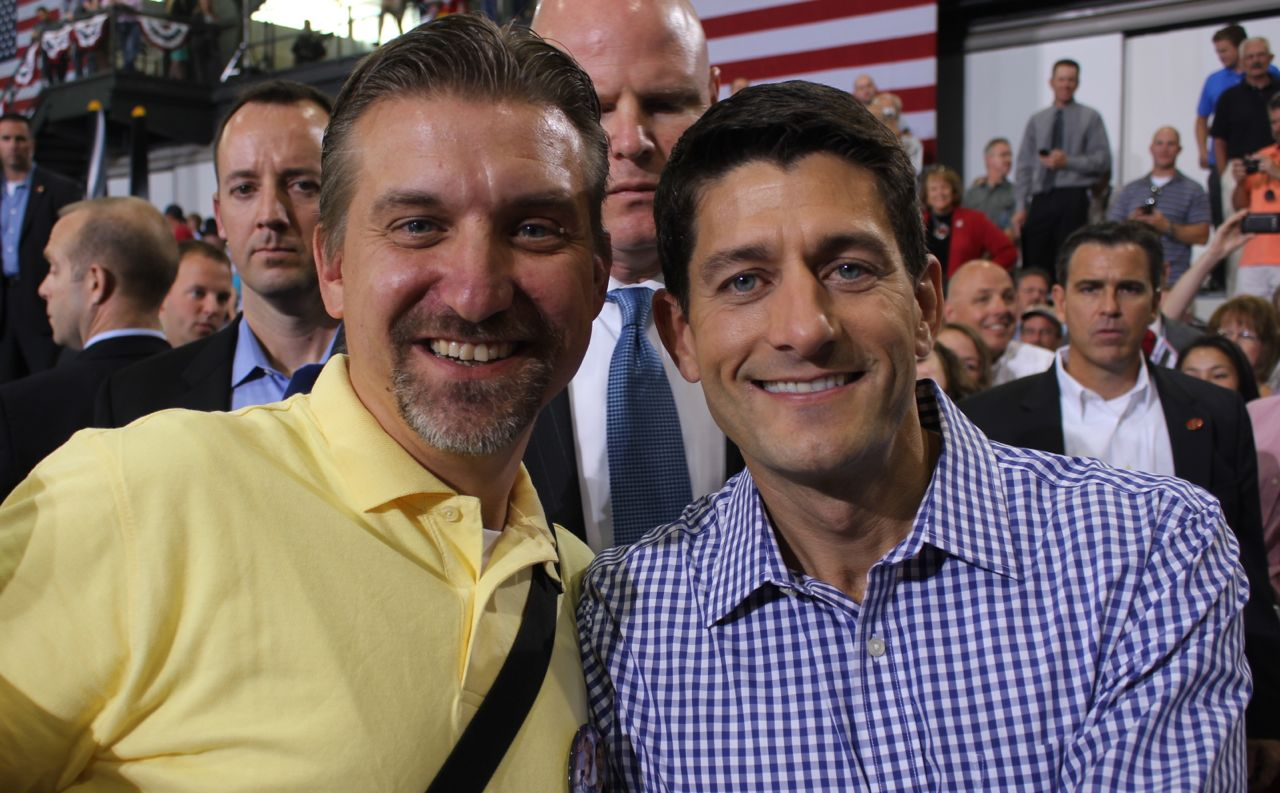 Chris Jeub and Paul Ryan