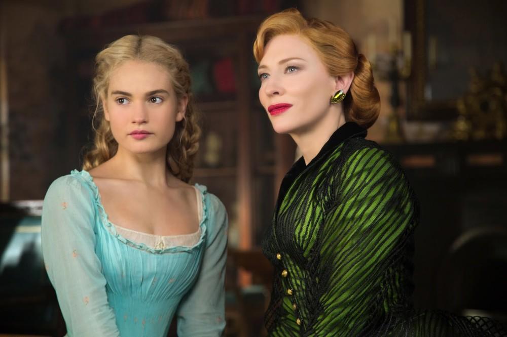 Cinderella and Lady Tremaine