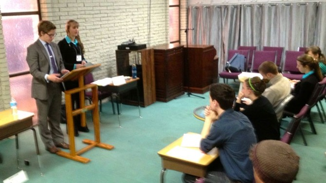 Debating in Tulsa