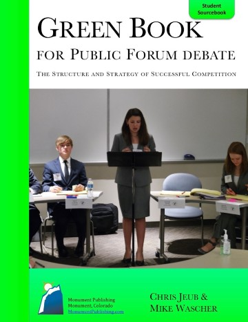 Green Book for Public Forum Teacher Edition