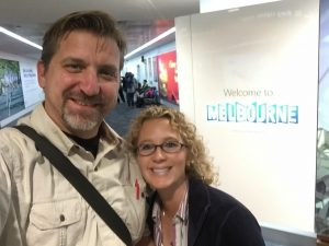 Wendy and I arrived yesterday morning, and we jumped right into seeing Melbourne.