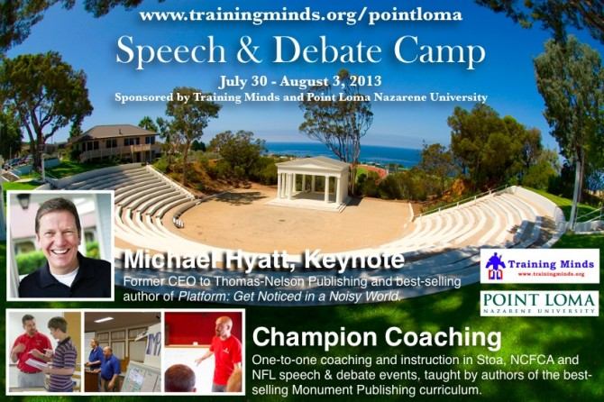 Click to discover more about Point Loma Training Minds Camp with Michael Hyatt.
