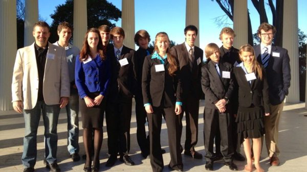My debate club at Point Loma University.