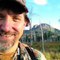 My selfie in the woodsie.
