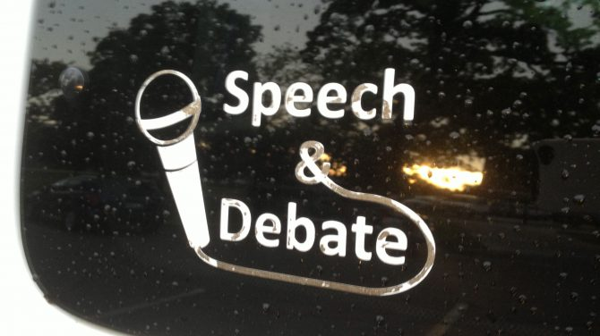 Speech and Debate Decal
