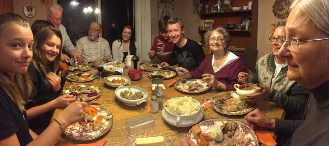 Thanksgiving 2014, Minnesota.